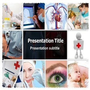 Doctor Collage Powerpoint Templates   Doctor Collage