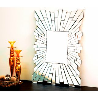 Abbyson Living Empire Rectangle Wall Mirror