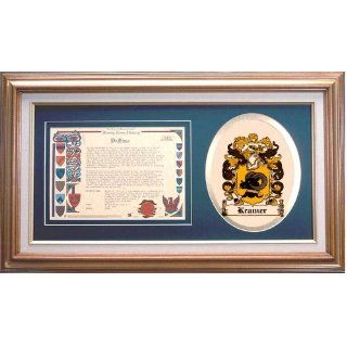 Kramer Family Name History and Coat of Arms / Family Crest
