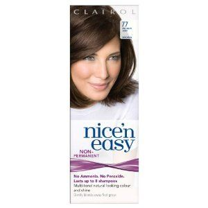 Clairol Nice n Easy Hair Color #77, Medium Ash Brown