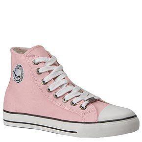 Harley Davidson Womens Encore Tennis Shoes (Pink)   6.5