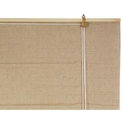 Jute Fiver 60 inch Bianco Roll up Blinds (60 in. x 72 in.) (China