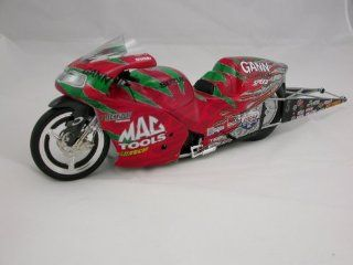 Shawn Gann 1/9 scale Suzuki NHRA Pro Stock Drag Bike: Toys