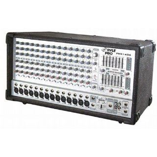 Pyle Pro PMX1406 14 Channel 1200 Watts Digital Powered Mixer W/DSP