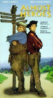 Almost Heroes [VHS]: Chris Farley, Matthew Perry, Bokeem
