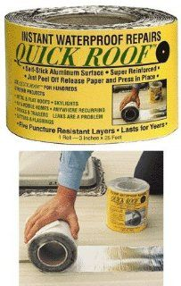 Cofair Products Inc 3X25 Roof Repair Qr325 Roof Seal Tape