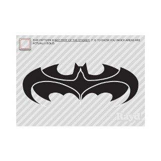 (2x) 5 Batman and Robin Logo Sticker Vinyl Decals