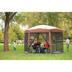 Coleman Steel framed Screened Instant Canopy Shelter (12 x 10