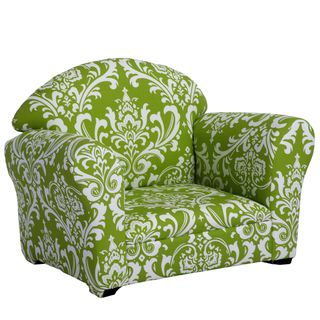 Christopher Knight Home Valentine Kids Green/ White Club Chair