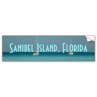 island florida bumper sticker photograph west coast sail boat sticker