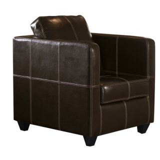 Cordoba Contrast Stitch Club Chair