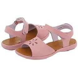 Aster Kids Simple2 (Toddler) Pink Leather Sandals