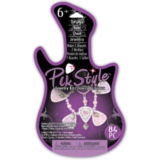 Pik Style Girly Pink Purple Jewelry Kit