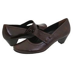 Paul Green Bella Brown Calf Pumps/Heels   Size 5.5