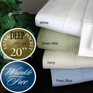 500 Thread Count 4 Piece Wrinkle Free Sheet Set