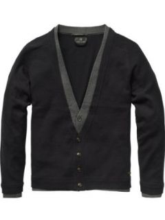 Scotch & Soda Herren Pullover fake double layer cardigan   printed