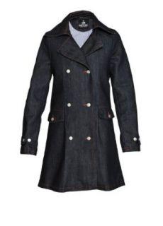 Damen Jeansmantel TAILOR (XS, denim / dunkelblau):