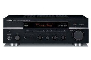 Yamaha RX 497 Hifi Receiver schwarz Heimkino, TV & Video
