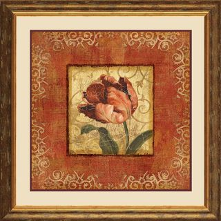 Lisa Audit Blooming Red II Framed Print Art