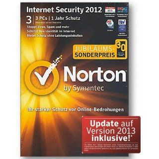 Norton Internet Security 2012 3 PC / User inkl. Update 2013   30 Jahre