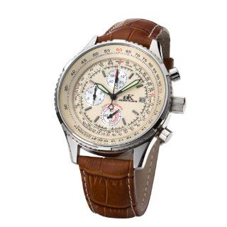 Adee Kaye Herrenuhr Flightmaster Chronograph AK 6230 M BE
