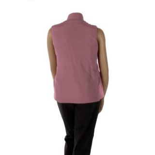 Debbie Morgan Womens Plus Size Fleece Vest