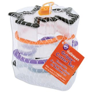 Wilton Comfort Grip Halloween Cookie Cutter Set (Pack of 4
