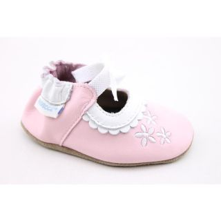 Robeez Infants Ruffles MJ Pink Slip ons