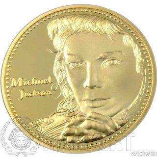 Michael Jackson Goldmünze 999 verg. (Rarität) Küche