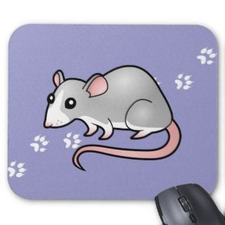 Cartoon Rat (silver blaze) mousepads by SugarVsSpice