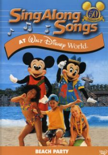 Sing Along Songs Beach Party At Walt Disney World (DVD)