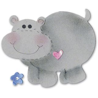 Sizzix Originals Medium Hippo Die