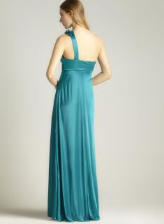 Morgan One Shoulder Rosette Gown