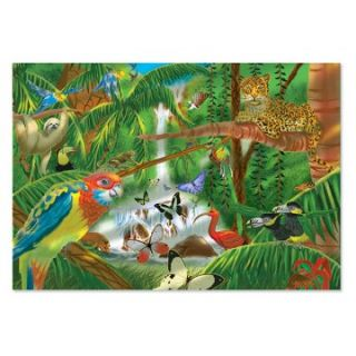 Melissa and Doug Rain Forest Jigsaw Puzzle   Jigsaw Puzzles at