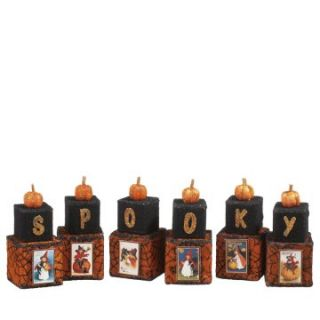 CBK Halloween Whimsies Spooky Halloween Block   Set of 12