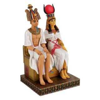 Design Toscano 10 in. Union Beyond Death Egyptian Statue   Sculptures