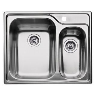 Blanco Supreme 1 and 1/2 Bowl Drop In Kitchen Sink   Kitchen Sinks at
