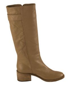 Chloe Beige Prince Paddington Buckle Boots