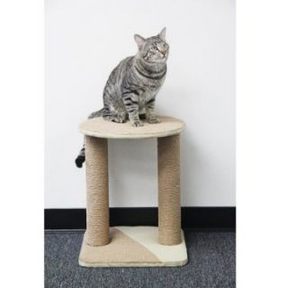 PetPal 16 x 16 x 20 in. Jute Cat Furniture with Post   Cat Gyms at