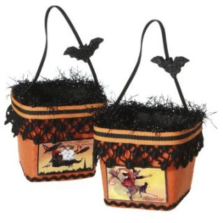 Midwest CBK Halloween Whimsies Treat Container with Printed Picture