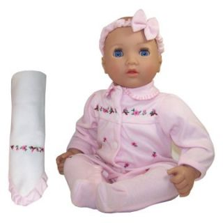 Molly P. Originals Bonnie 18 in. Doll with Open Close Eyes   Baby
