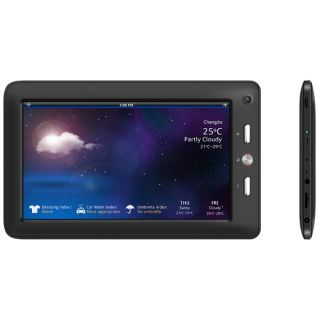 260 7 2 GB Slate Tablet   Wi Fi   700 MHz   Black
