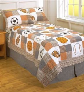 Top 5 Sports Themes for Boys Bedding