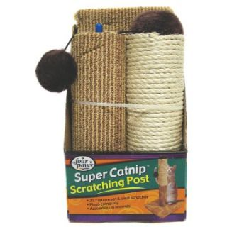 21 in. Super Catnip Scratching Post   Cat Scratching Posts at