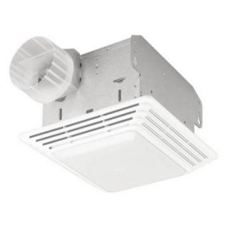Broan Nutone HD50LNT Heavy Duty Ventilation Fan / Light   Exhaust Fans