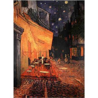 Van Gogh Cafe Terrace on the Place du Forum Canvas Wall Art (China