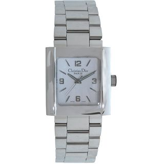 Christian Dior Womens Riva Stainless Steel Watch