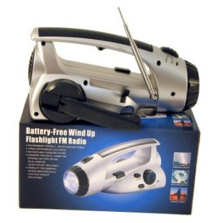 Mayday Dynamo LED Flashlight and Radio   Emergency Essentials at