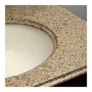 Greenwich 24 Inch Golden Peach Granite Counter Top