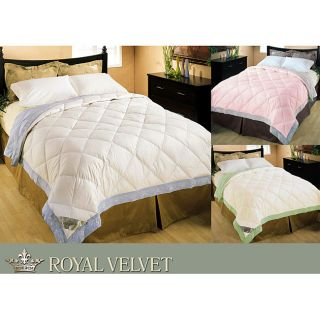 Royal Velvet 320 Thread Count Embroidery Down Blanket
